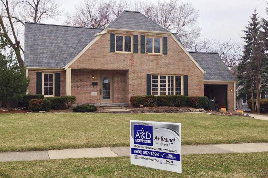 Glen Ellyn: Slate Roofing Project