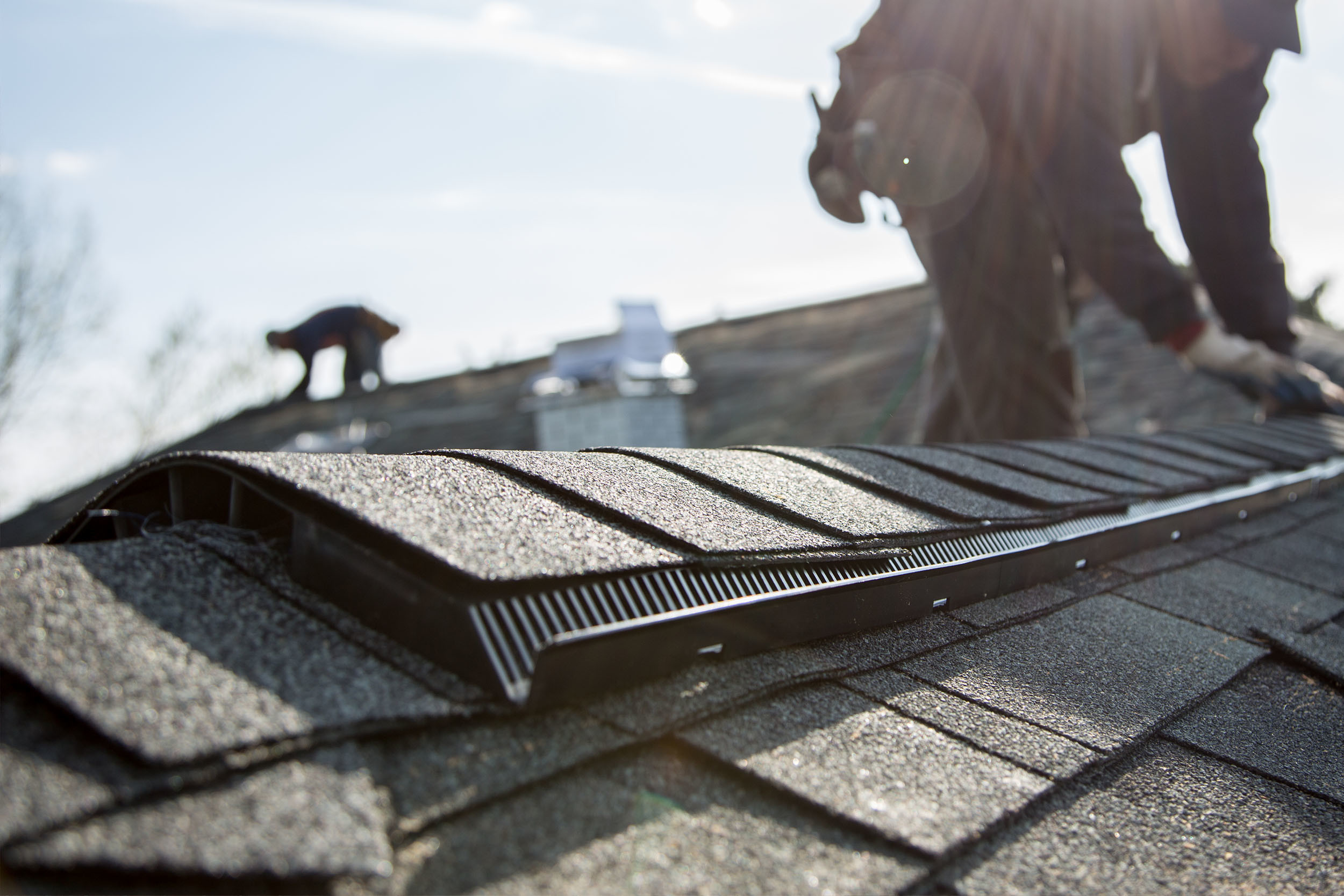 Ridge Vent System Roof Replacement Ventilation
