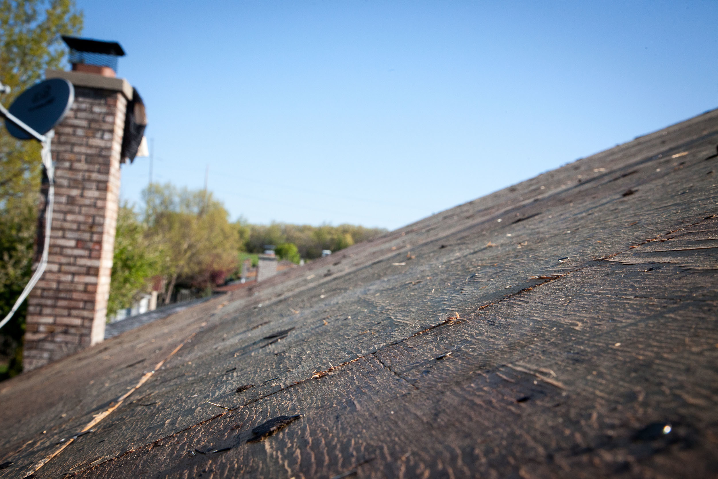 Stripped Roof Decking Replacement New