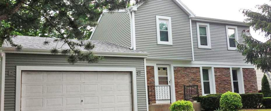 Roselle Project, After Image: Roofing, Siding, Gutters