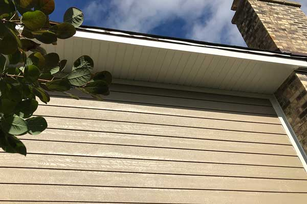 LP Smartside Siding Project in Arlington Heights IL